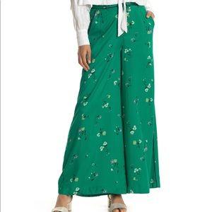 Free People Bennie Floral Printed Wide Leg Pants
